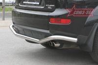 "Защита заднего бампера d60 ""волна"" для Mitsubishi Outlander XL (2006 -) MIOU.75.0483"