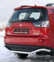 "Защита заднего бампера d60 ""волна"" для Mitsubishi Outlander XL (2010 -) MIOU.75.1042"