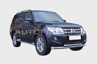 "Защита переднего бампера ""труба"" d76/60 двойная для Mitsubishi Pajero 4 (2011 -) MIPJ.48.1399"