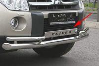 Накладка на передний бампер для Mitsubishi Pajero 4 (2006 -) MIPJ.99.0470