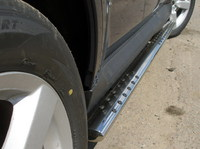 Пороги овальные с проступью 75x42мм для Mitsubishi Outlander XL (2006 -) MITOUTXL-03