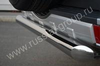 Защита заднего бампера d76 (дуга) для Mitsubishi Pajero 4 (2012 -) MP4Z-001041