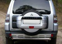 Защита заднего бампера d76  для Mitsubishi Pajero 4 (2006 -) MPZ-000134