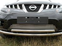 Решетка радиатора 16мм для Nissan Murano (2008 -) NISMUR09-07