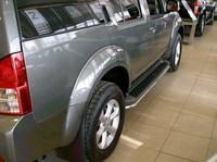Защита порогов d42 для Nissan Pathfinder (2005 -) NISPAT-03