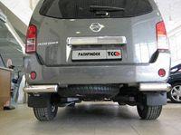 Защита задняя (уголки) d76 для Nissan Pathfinder (2005 -) NISPAT-04