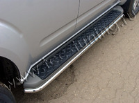 Защита порогов 42,4 мм для Nissan Pathfinder (2010 -) NISPAT10-02