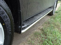 Защита порогов 42,4 мм для Nissan Patrol (2010 -) NISPATR10-02