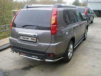 Защита задняя (уголки) d51 для Nissan X-Trail (2007 -) NISXTR07-06