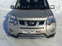 Решётка радиатора нижняя 12 мм для Nissan X-Trail (2011 -) NISXTR11-07