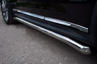 Защита порогов d63 для Nissan Juke 4x4 (2010 -) NJ4T-000884