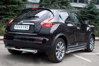 Защита заднего бампера d63/42 (ступень) для Nissan Juke 4x4 (2010 -) NJ4Z-000886