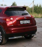 """Защита задняя """"уголки"""" d42 для Nissan Juke 4x4 (2010 -) NJU4.76.1397"""