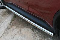 """Пороги """"труба"""" d42для Nissan Juke 4x4 (2010 -) NJU4.80.1391"""