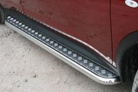 Пороги с листом d60 для Nissan Juke 4x4 (2010 -) NJU4.82.1393