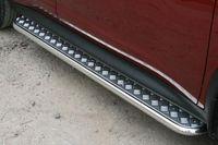 Пороги с листом d42 для Nissan Juke 4x4 (2010 -) NJU4.82.1394