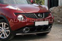 Защита переднего бампера d42 одинарная для Nissan Juke (2010 -) NJUK.48.1340