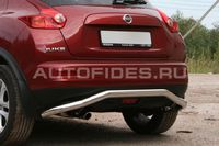 "Защита заднего бампера ""волна"" d60 для Nissan Juke (2010 -) NJUK.75.1351"