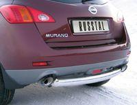 Защита заднего бампера d76 (дуга) для Nissan Murano (2011 -) NMZ-010315
