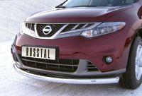 Защита переднего бампера d63 (дуга) для Nissan Murano (2011 -) NMZ-010319