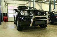 Решётка передняя мини d76 низкая для Nissan Pathfinder (2010 -) NPTF.56.0151