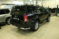 """Защита задняя """"уголки"""" 76 для Nissan Pathfinder (2010 -) NPTF.76.1069"""