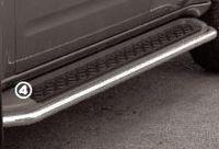 Защита штатного порога d42 для Nissan Pathfinder (2005 -) NPTF.86.0217