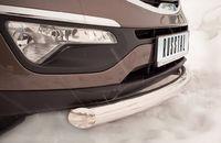 Защита переднего бампера d76 (дуга) для Kia Sportage (2010 -) NSPZ-000760