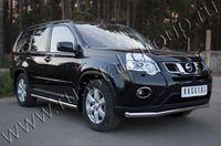 Защита переднего бампера d63 секции для Nissan X-Trail (2011 -) NTZ-000910