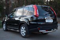 Защита заднего бампера d76/63 (дуга) для Nissan X-Trail (2011 -) NTZ-000919
