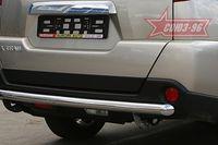 """Защита задняя """"волна"""" d60 для Nissan X-Trail (2007 -) NXTR.75.0505"""