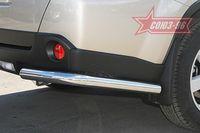 """Защита задняя """"уголки"""" d60 для Nissan X-Trail (2007 -) NXTR.76.0504"""