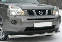 Защита переднего бампера d63 (5 секций) для Nissan X-Trail (2007 -) NXZ-000092