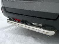 Защита заднего бампера d63 для Nissan X-Trail (2007 -) NXZ-000093