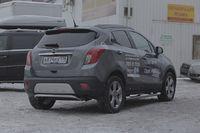 Защита задняя d42 для Opel Mokka (2012 -) OMOK.75.1663