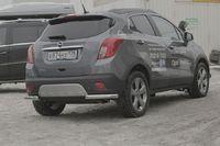 "Защита задняя ""уголки"" d60 для Opel Mokka (2012 -) OMOK.76.1666"