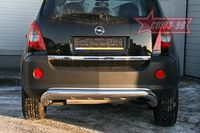 Защита заднего бампера d76 для Opel Antara (2006 -) OPAN.75.0588