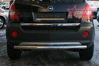 Защита заднего бампера d60 для Opel Antara (2006 -) OPAN.75.0589