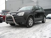 Защита передняя (кенгурин) d76 для Opel Antara (2006 -) OPANT-01