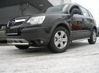 Пороги труба d60 для Opel Antara (2006 -) OPANT-03