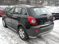 Защита задняя (центральная) d60 для Opel Antara (2006 -) OPANT-06