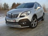Защита передняя нижняя 42,4 мм для Opel Mokka (2012 -) OPMOK4WDT12-01