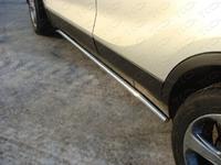 Защита порогов 42,4 мм для Opel Mokka (2012 -) OPMOK4WDT12-04