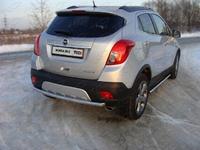 Защита задняя центральная 50,8 мм для Opel Mokka (2012 -) OPMOK4WDT12-06