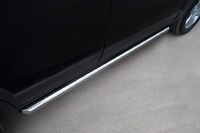 Пороги труба d63 (вариант 1) для Peugeot 3008 (2009 -) P38T-0004221
