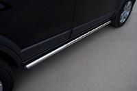 Пороги труба d63 (вариант 2) для Peugeot 3008 (2009 -) P38T-0004222