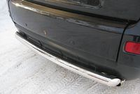 Защита заднего бампера d76 (дуга) для Peugeot 3008 (2009 -) P38Z-000433