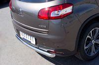 Защита заднего бампера d63 для Peugeot 4008 (2012 -) P48Z-000538