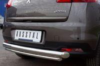 Защита заднего бампера d76/42 нижняя для Peugeot 4008 (2012 -) P48Z-000540