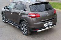 Защита заднего бампера d76/42 верхняя для Peugeot 4008 (2012 -) P48Z-000541